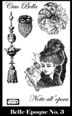 Belle Epoque Stamp Set 3