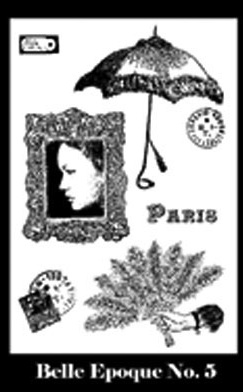 Belle Epoque Stamp Set 5