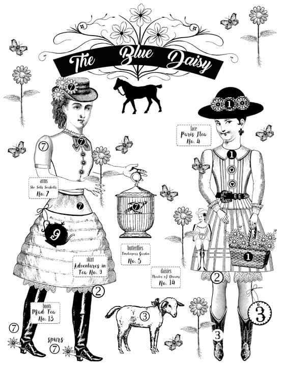 The Blue Daisy