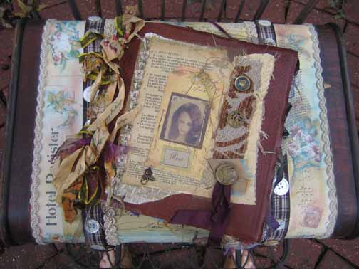 Rose's Journal and Suitcase