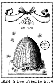 Bee Skep Stamp small