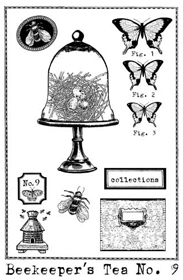 Cloche Stamp small