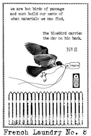 Flying Bird Stamp