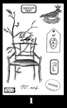 Twig Chair Stamp 1