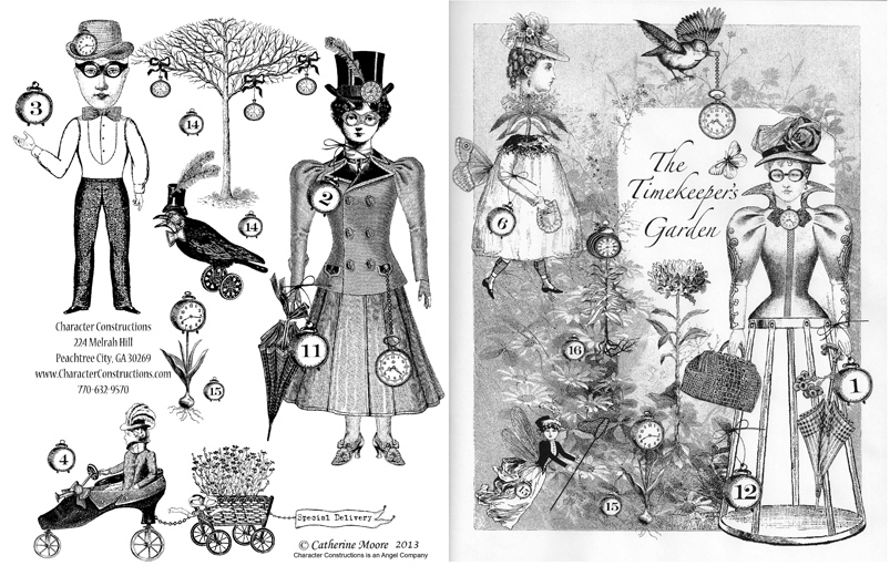 Timekeeper's Garden Front and Back Cover
